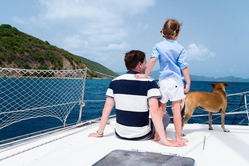 Cani in barca a vela, i nostri consigli