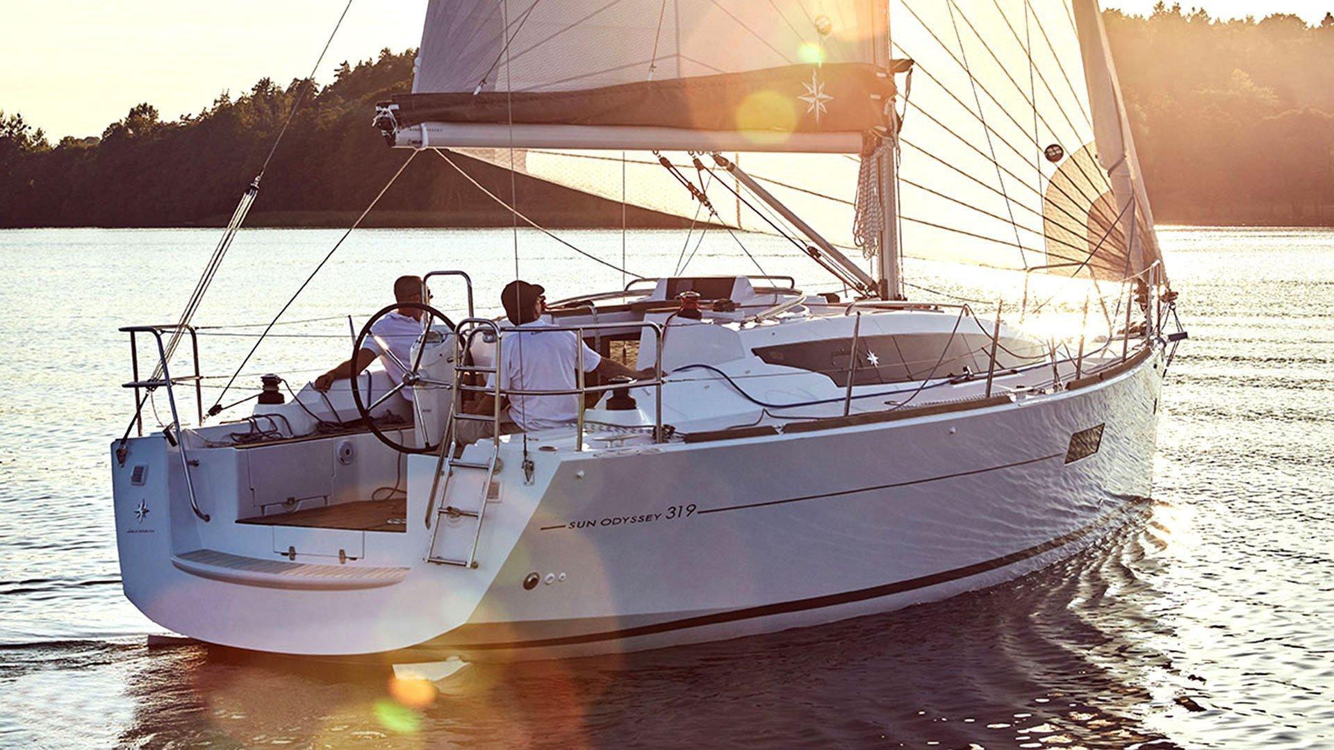 Sunsail Sun Odyssey 319