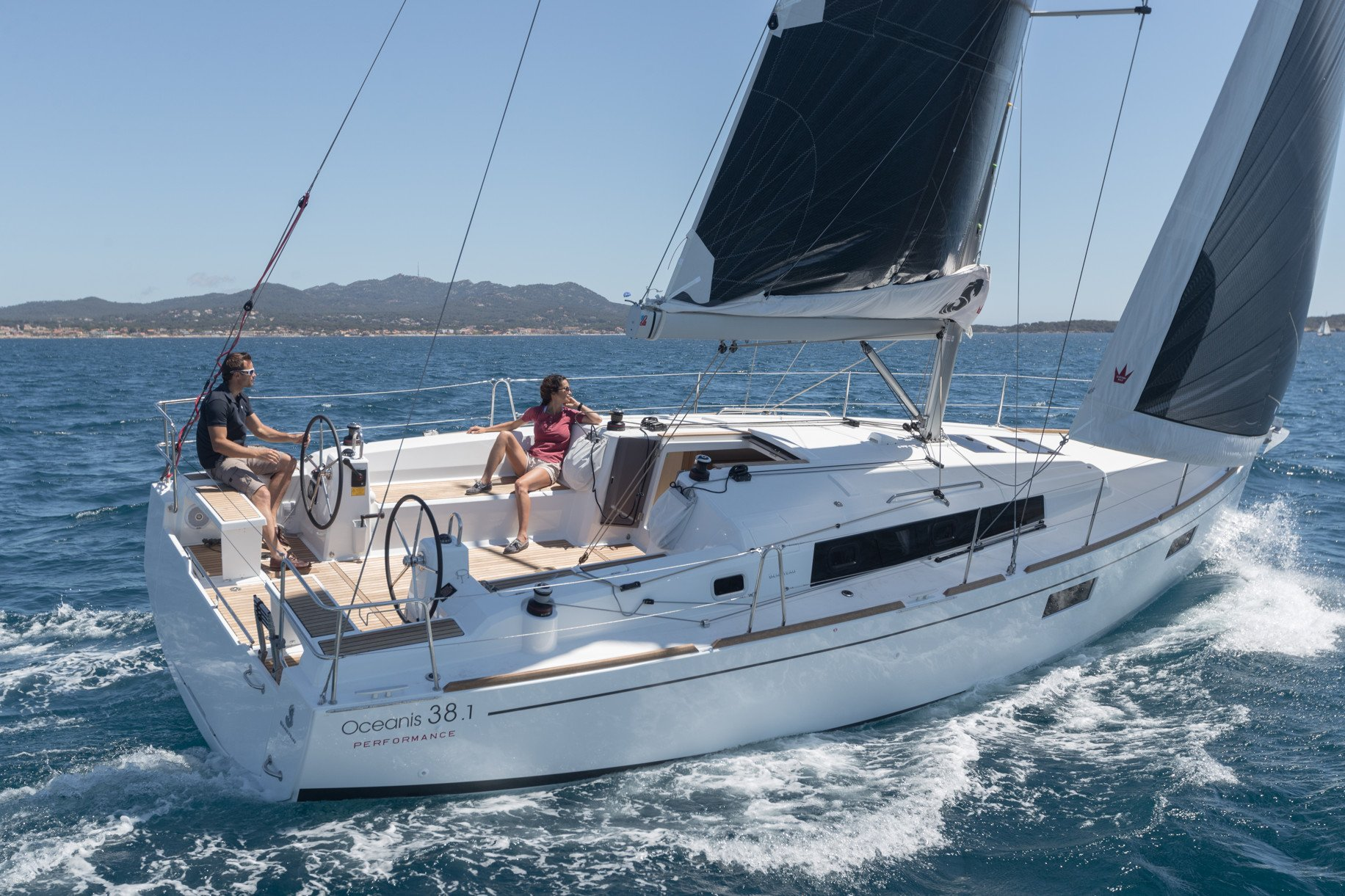 Sunsail Premier Plus Oceanis 38.1